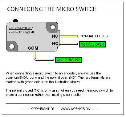 microswitch project mame basic arcade and mame joystick and push button micro switch wiring diagram at gsmx.co
