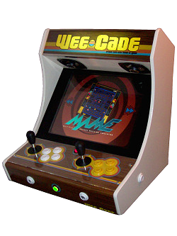 sc 1 st  koenigs.dk & Project MAME u0026 WeeCade - Building a MAME Cabinet - Bartop or fullsize