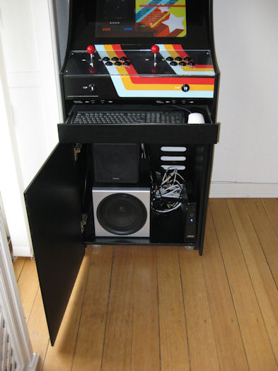 Project Mame Build Your Own Mame Cabinet Taitorama