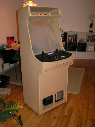 build your own arcade cabinet project mame build your own mame cabinet step 1 12609