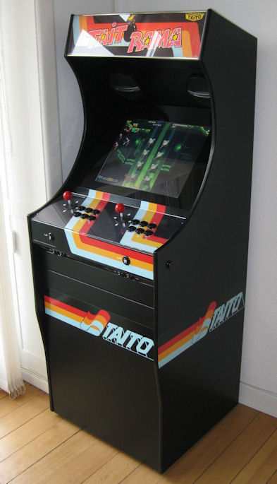build your own arcade cabinet project mame build your own mame cabinet taitorama 12609